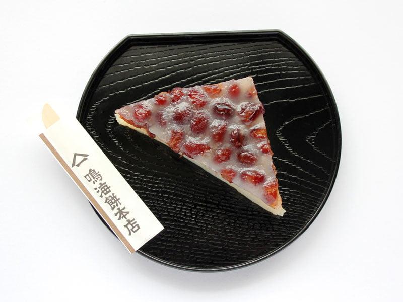 鳴海餅本店 水無月(白)