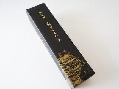 大阪城 金のカステラ