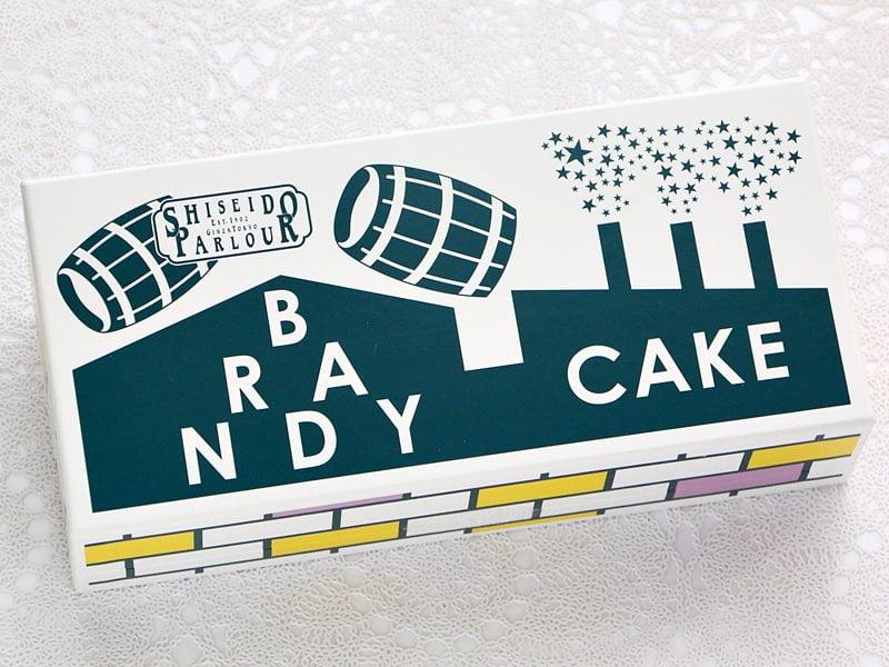 資生堂ブランデーケーキ外装写真