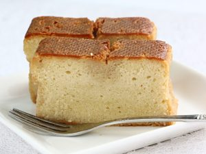 資生堂ブランデーケーキ中身の写真