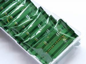 シュガーバターサンドの木 抹茶ショコラ 中身(全体)の写真