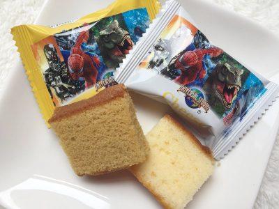 USJ プチケーキセット(ターミネーター・スパイダーマン・ジュラシックパーク・ジョーズ)
