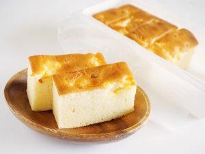 わんこきょうだい 濃厚カマンベールチーズケーキ中身