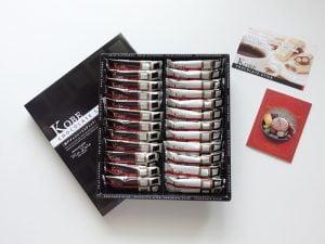 神戸チョコレートスティック内装