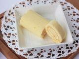 伊香保グリーン牧場チーズロールケーキ 中身の写真