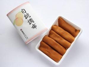 廣榮堂 白桃調布 開封した写真