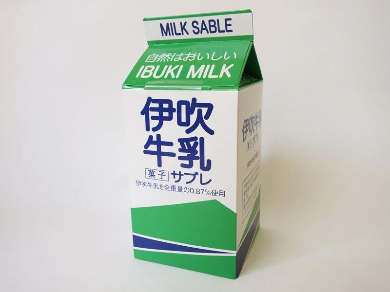 伊吹牛乳サブレ 外装