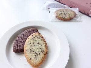 カカオの実クッキー中身
