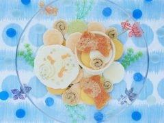 桂新堂 金魚の水遊び