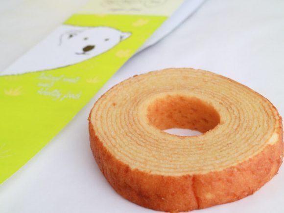 ソイバウムクーヘンの輪 中身の写真