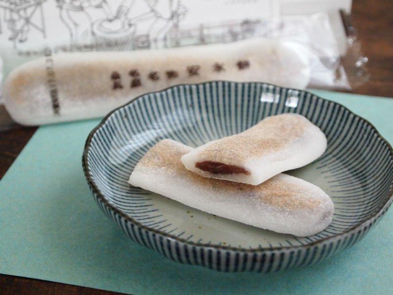 安永餅 中身の写真