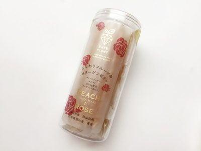 GOHOBI フルーツコラーゲンゼリー岡山白桃&福山薔薇