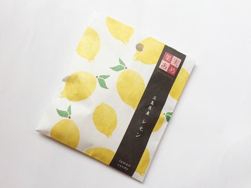 GOHOBI果実あめ広島レモン外装写真