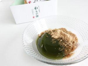 京のお抹茶わらび餅中身