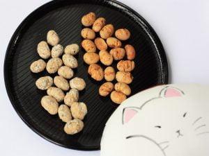 まめや金澤萬久 炒り豆(アールグレイ&イタリアン) 中身の写真