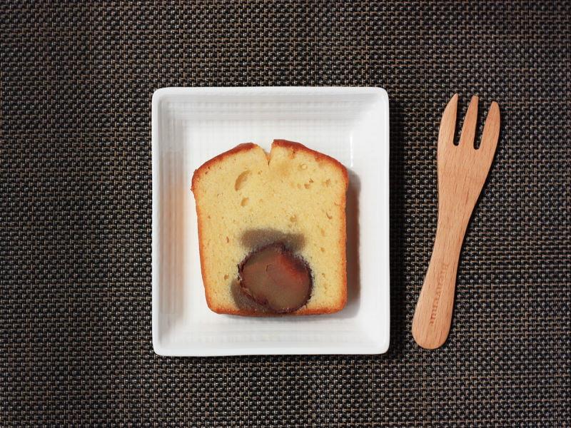 小布施堂 くりあんケーキ 中身の写真