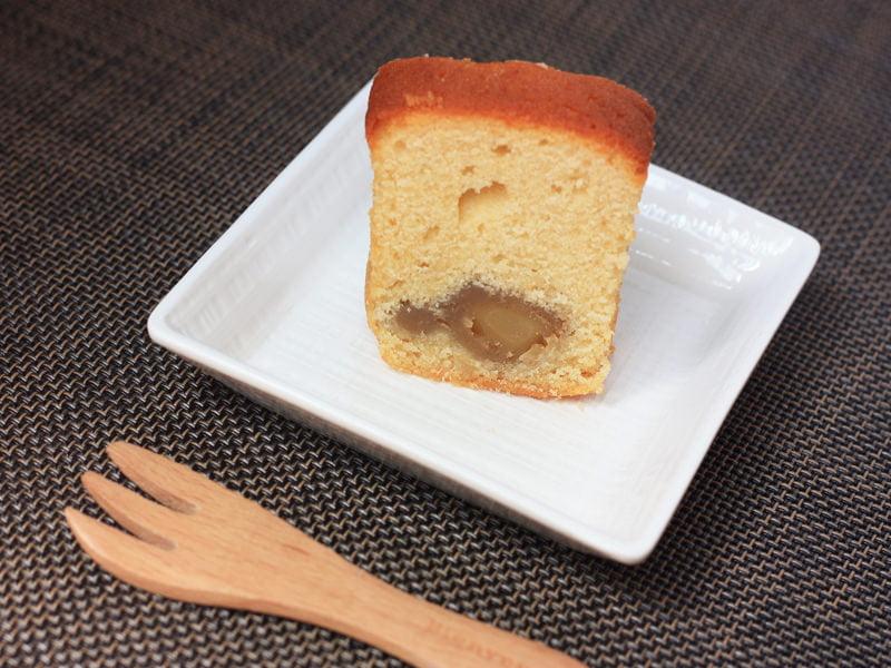 小布施堂 栗かのこケーキ 中身の写真