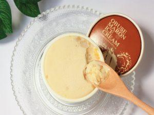 小布施堂 栗アイスクリーム 中身の写真