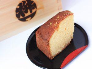 小布施堂 酒粕ケーキ 中身の写真