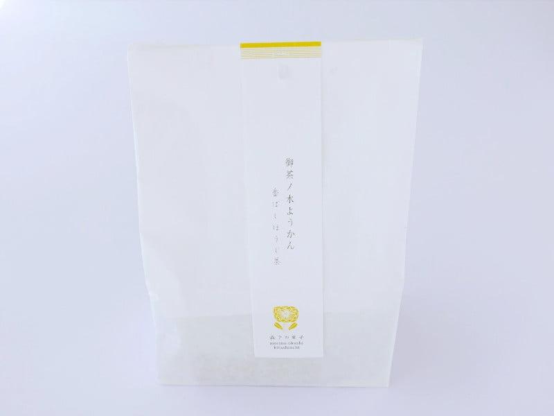 御茶ノ水ようかん(香ばしほうじ茶) 外装