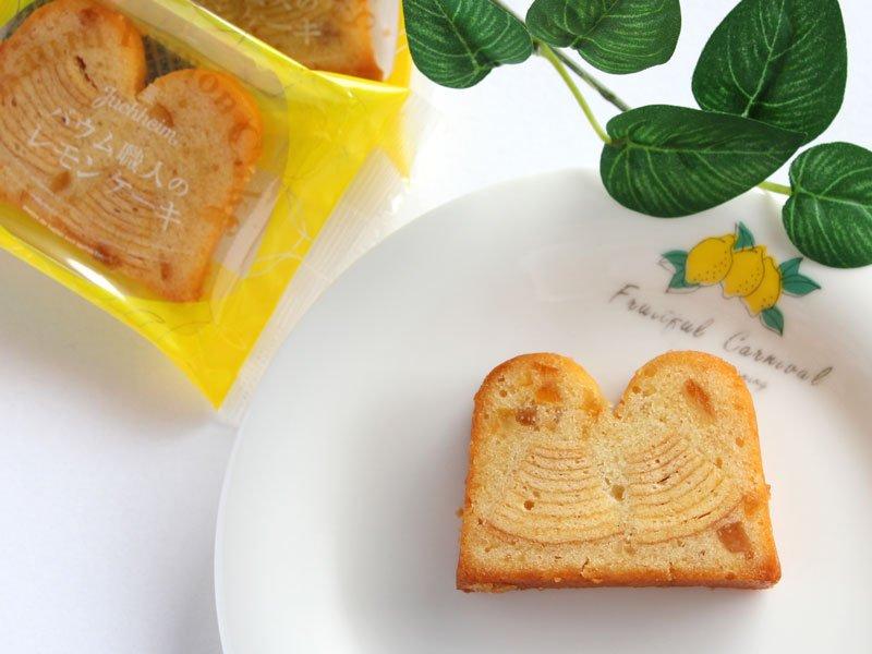 Times Cross バウム職人のレモンケーキ 中身の写真