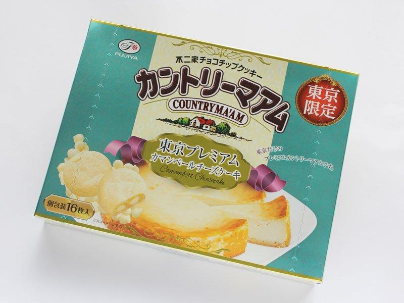 カントリーマアム 東京プレミアム カマンベールチーズケーキ 外装