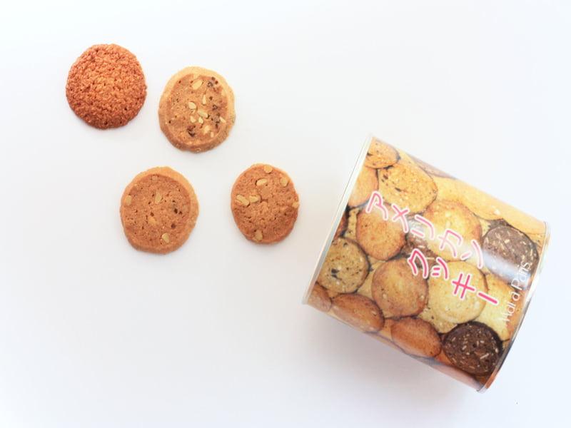 開運堂 アメリカンクッキー 開封した写真