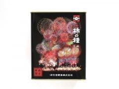 元祖柿の種新潟花火缶