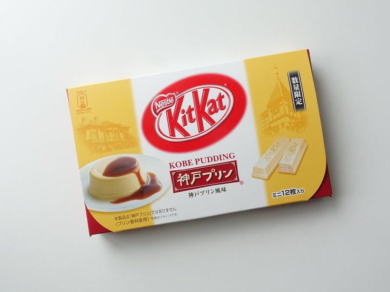 キットカット神戸プリン味外装