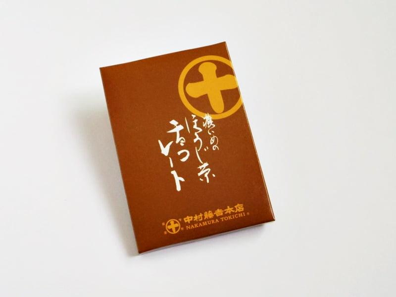 濃いめのほうじ茶チョコレート 外装