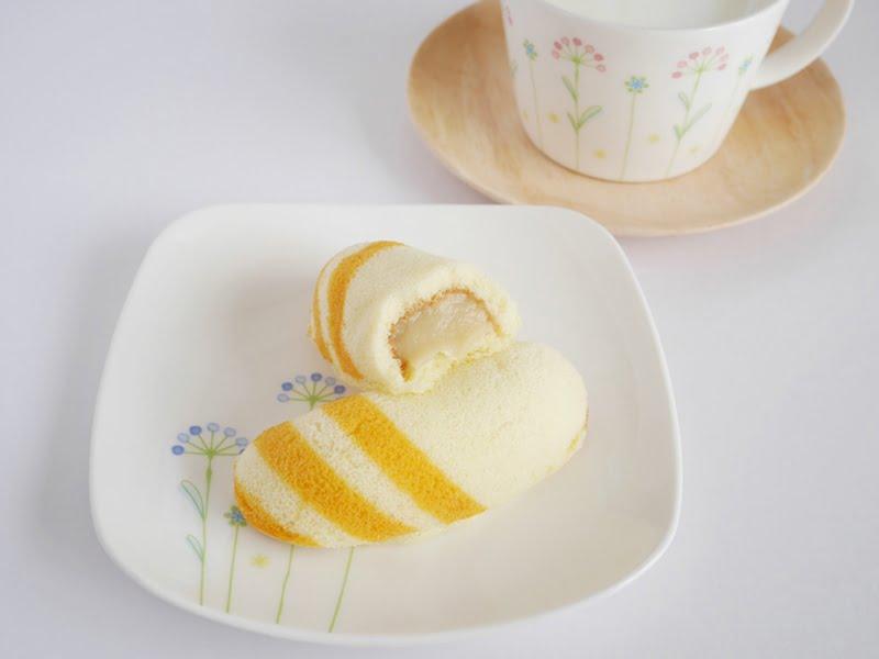 東京ばな奈はちみつバナナ中身の写真