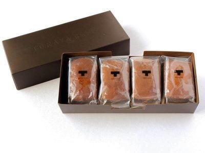 TORAYA CAFE 和栗とチョコレートのフォンダン