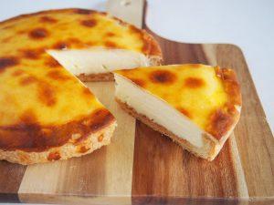 チーズベーク 開封した写真