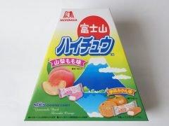 富士山ハイチュウ 山梨もも味・静岡みかん味