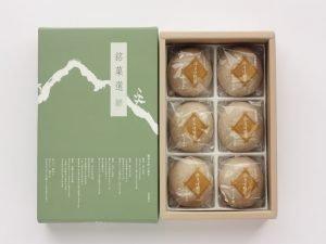 信州飯田いとうや 本そば饅頭 開封した写真