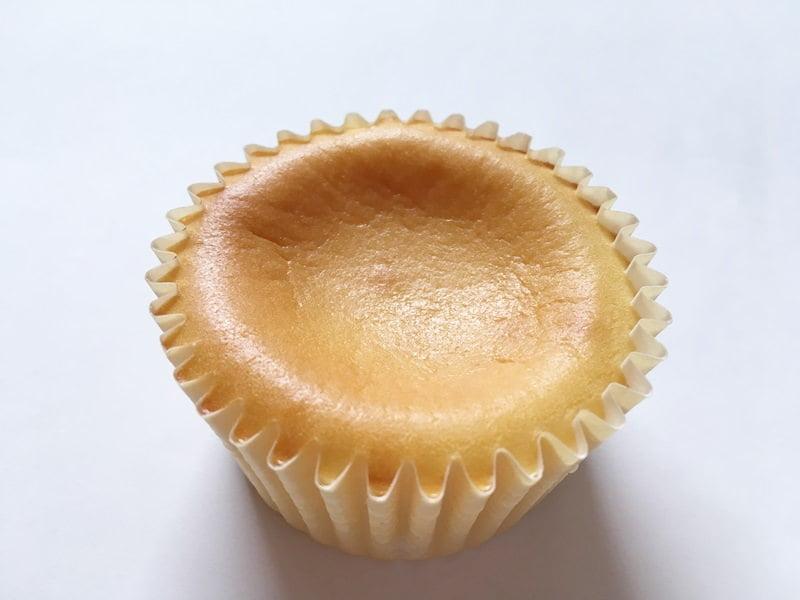 神戸フランツ半熟チーズケーキ中身写真