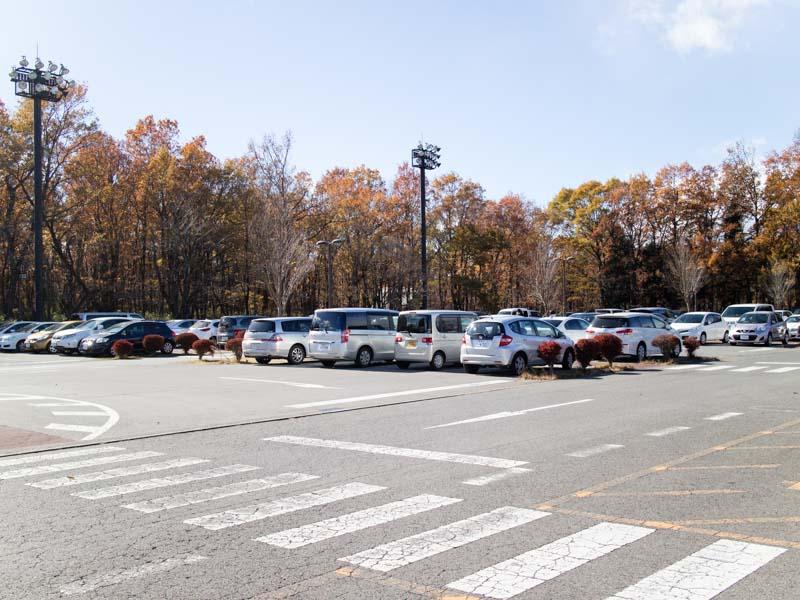 道の駅那須高原友愛の森 駐車場