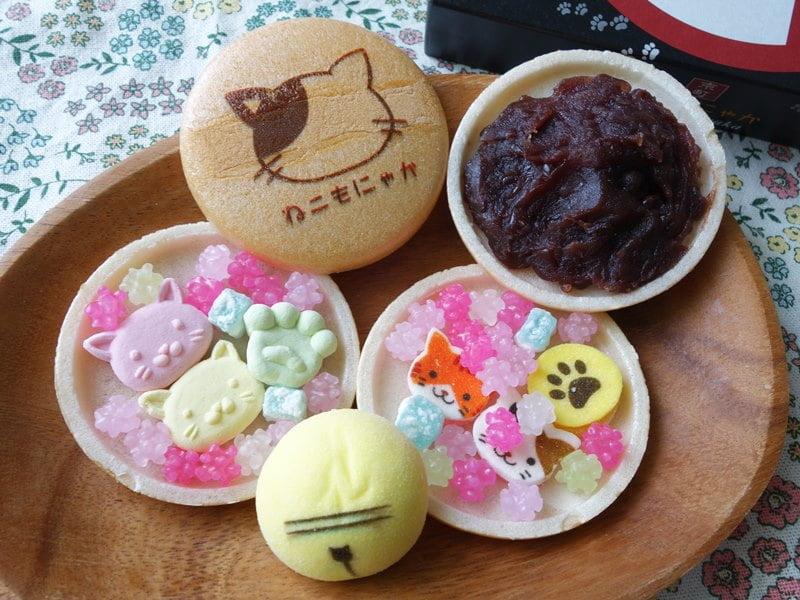 ねこもにゃか を食べてみた口コミは?販売店舗や通販・カロリー・値段・賞味期限や日持ちのまとめ - OMIYA!(おみや) 日本のお土産情報サイト
