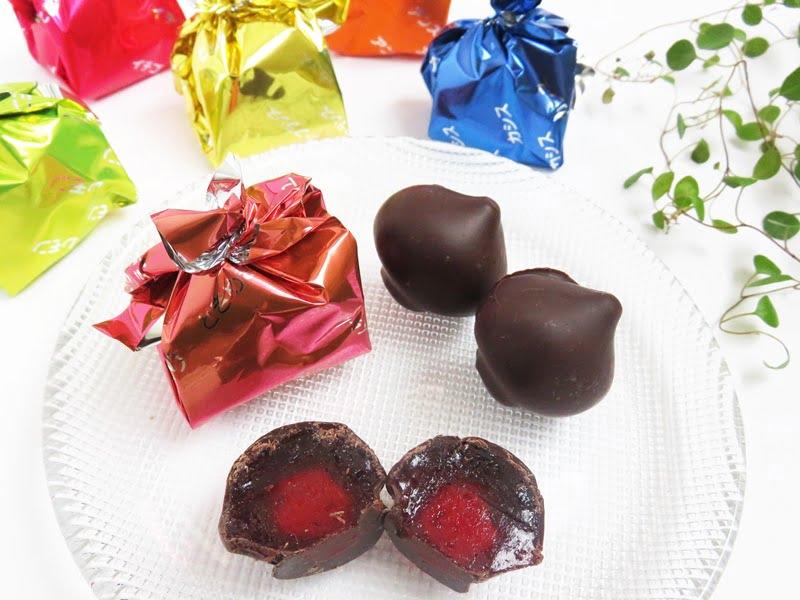 彩果の宝石 ときめきはんなりショコラ 中身の写真