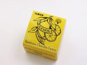 軽井沢チョコレートファクトリー チョコレートボールレモン 外装