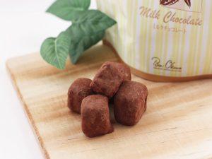 軽井沢チョコレートファクトリー キューブチョコラスク ミルクチョコレート 中身の写真