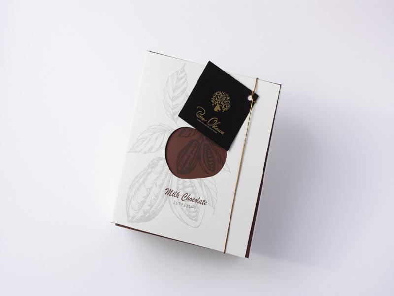 軽井沢チョコレートファクトリー 軽井沢ラスクミルクチョコレート 外装