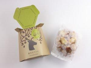 軽井沢チョコレートファクトリー 軽井沢ラスク オリーブバジル 開封した写真