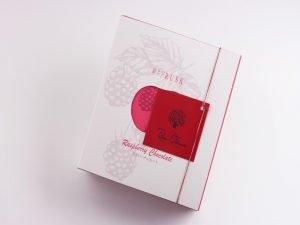 軽井沢チョコレートファクトリー 軽井沢ラスク ラズベリーチョコレート 外装