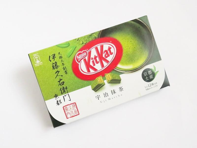 キットカット ミニ 伊藤久右衛門 宇治抹茶 外装
