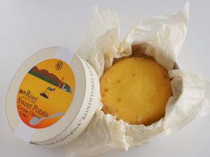 神戸ローストスイートポテトクリームチーズケーキ開封後