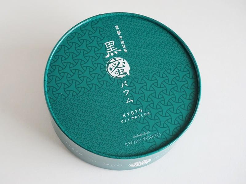 京都ヴェネト 京都宇治抹茶黒蜜バウム外装