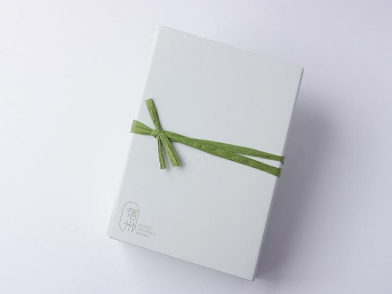 信州里の菓工房 市田柿のミルフィーユ 外装