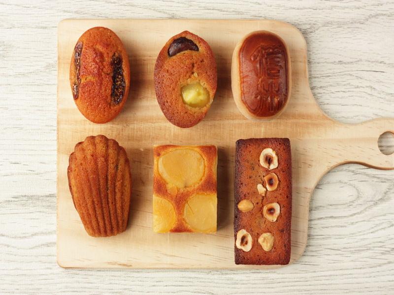 信州里の菓工房 陣屋の小判焼き菓子 中身の写真
