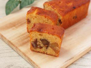 信州里の菓工房 伊那栗のパウンドケーキ 中身の写真